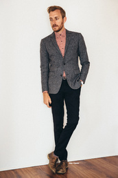 stay classic,blogger,mens blazer,grey blazer,menswear