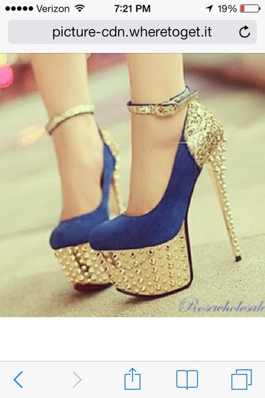shoes blue shoes blue heels