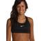 Nike pro victory compression sports bra black/black/(white) - zappos.com free shipping both ways