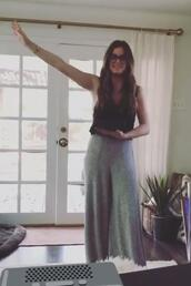 pants,instagram,jojo fletcher,grey,top