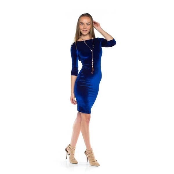 Crush On You Dress - Royal Blue | Vanity Row