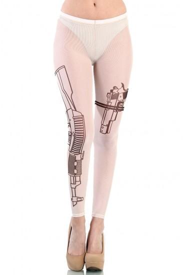 LoveMelrose.com From Harry & Molly | Tattoo Guns Leggings