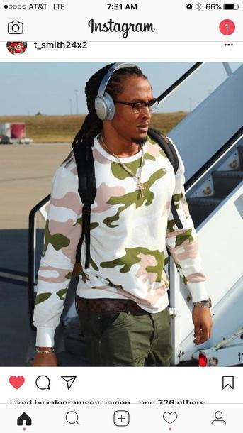 sweater camouflage menswear