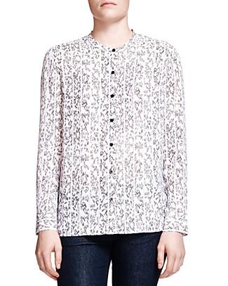 The Kooples Graphic Stripe Print Shirt | Bloomingdale's