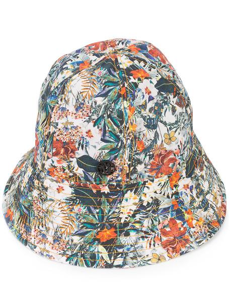 hat bucket hat floral