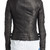 Moto Leather Jacket - Black