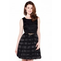Bergamo Check Skater Dress | One Dress A Day