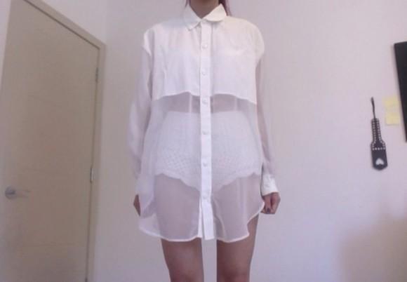 white blouse grunge white shirt pale grunge