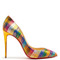 Pigalle follies 100mm checked pumps