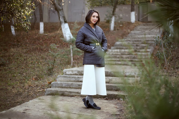trivial insanity shoes skirt coat belt jacket