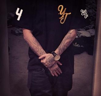 shirt phoraone black shirt yours truly