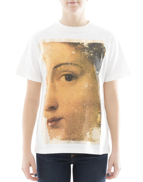 Golden goose t-shirt shirt cotton t-shirt t-shirt cotton black white top