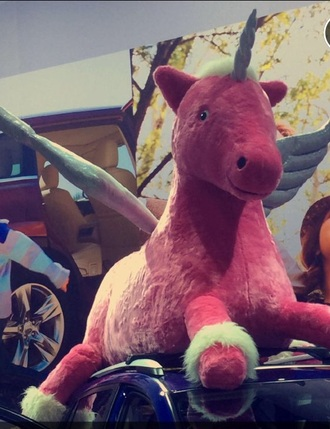 pajamas pink unicorn stuffed animal holiday gift