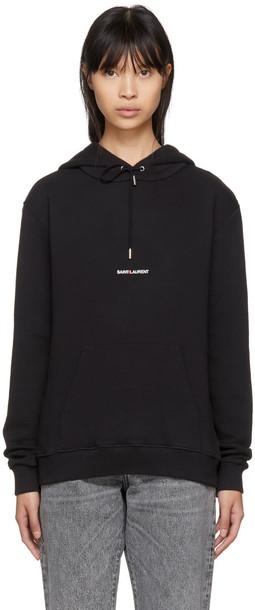 Saint Laurent hoodie black sweater