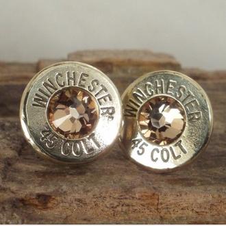jewels bullet earrings manchester 45 colt earrings earrings