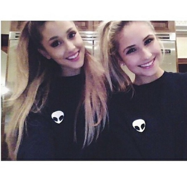 sweater ariana grande alien