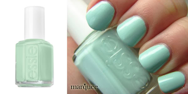 Essie Nail Polish E702 Mint Candy Apple New Mint Green Apple Color | eBay