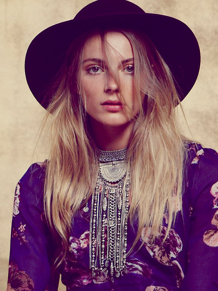 Free People Exaggerated Fringe Collar