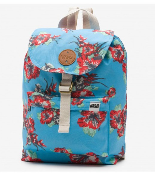 vans bag backpack floral