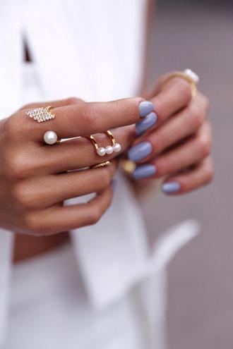 jewels ring pearl