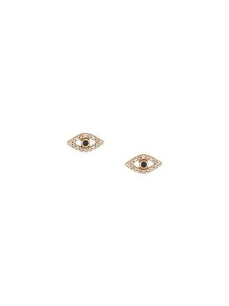 metallic women earrings stud earrings jewels