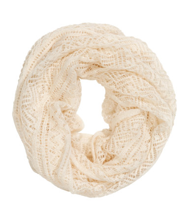 Knit tube scarf $14.95