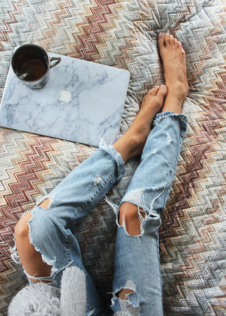 jeans ripped destroyed destroyed boyfriend jeans denim ripped jeans boyfriend bedding