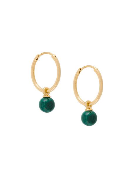 women earrings hoop earrings gold grey metallic jewels