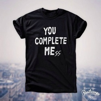 punk you complete me luke hemmings t-shirt you complete mess 5sos tank 5 seconds of summer ash ashton irwin shirt