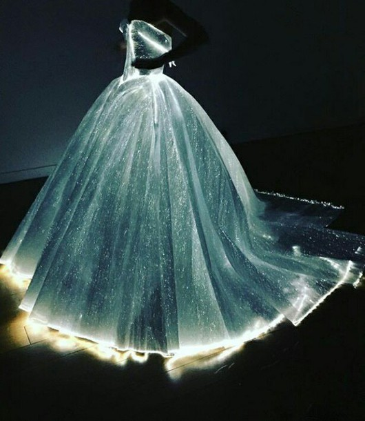 dress, light up, light up dress, ball gown dress, ball gown wedding ...