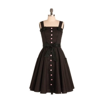 little black dress dress black nice long dress buttons gold