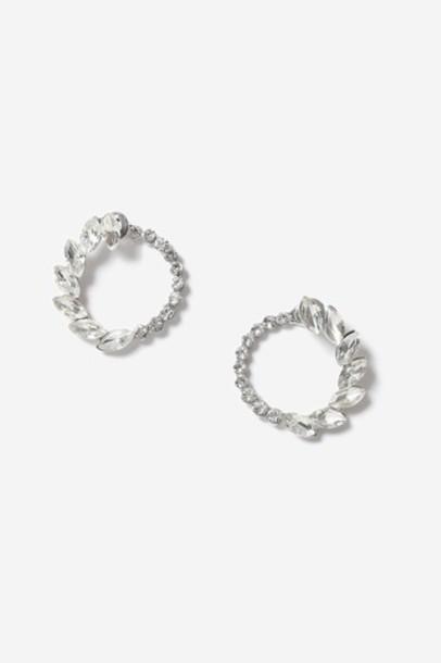 Topshop back clear earrings jewels