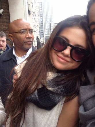 sunglasses black selena gomez
