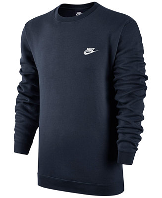 Men's Crewneck Fleece Sweatshirt - Hoodies & Sweatshirts - Men ...