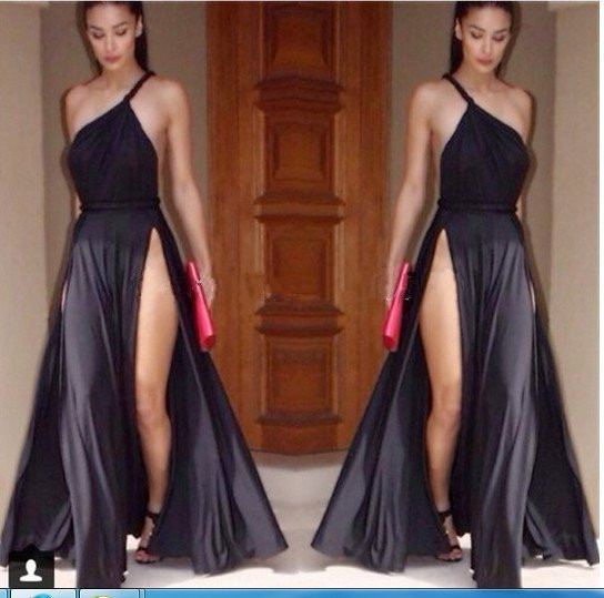 Draya luxe maxi dress