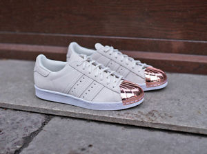 adidas superstar metallic rose