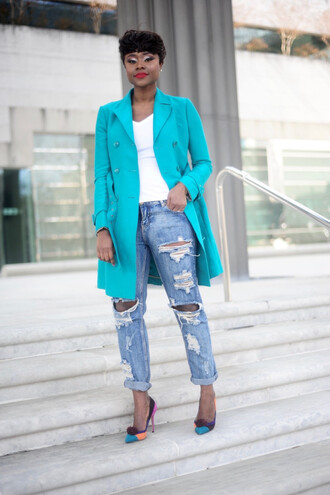 skinny hipster blogger make-up t-shirt jeans jacket shoes jewels