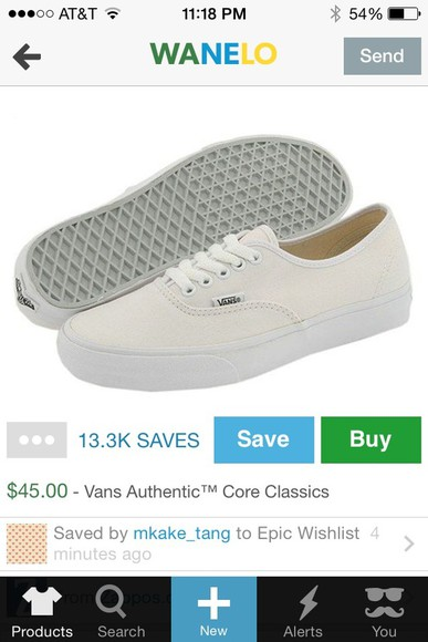 vans authentics shoes sneakers indie off-white classic