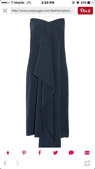 dress navy formal dress strapless dress