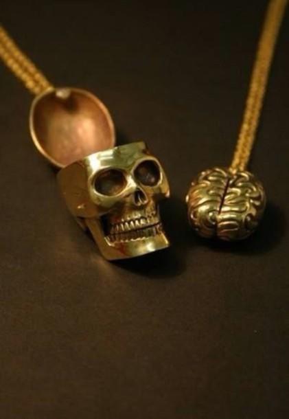 jewels skull