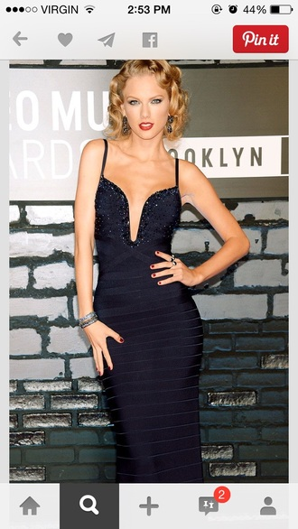 prom dress taylor swift navy dress old fashion sparkly dress homecoming dress