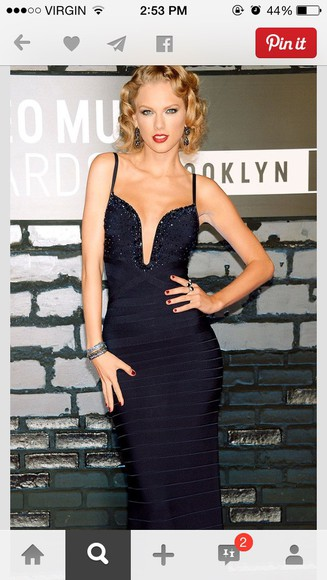taylor swift navy dress old fashion sparkly dress prom dresses 2014 prom dress homecoming dress