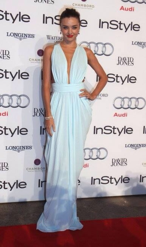 dress miranda kerr long prom dress white dress v neck dress