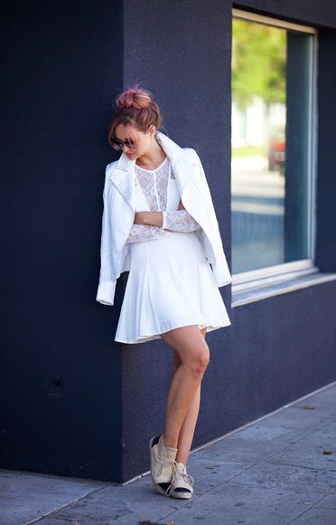 late afternoon jacket shoes sunglasses jewels