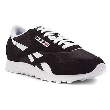 00ce860bee0 Buy reebok classic nylon black and white   OFF45% Discounted