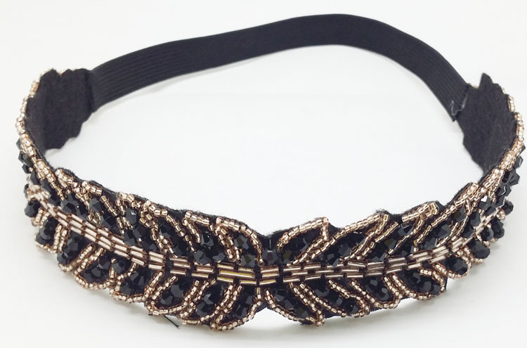 Aliexpress.com: Comprar De color negro largo de la hoja de cristal ...