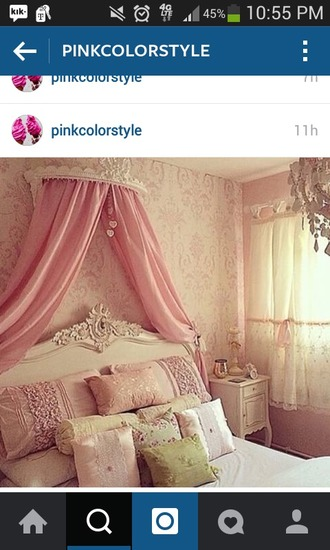 home accessory pink princess home decor bedroom girly