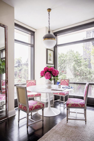 home accessory home decor pink flowers pink chair