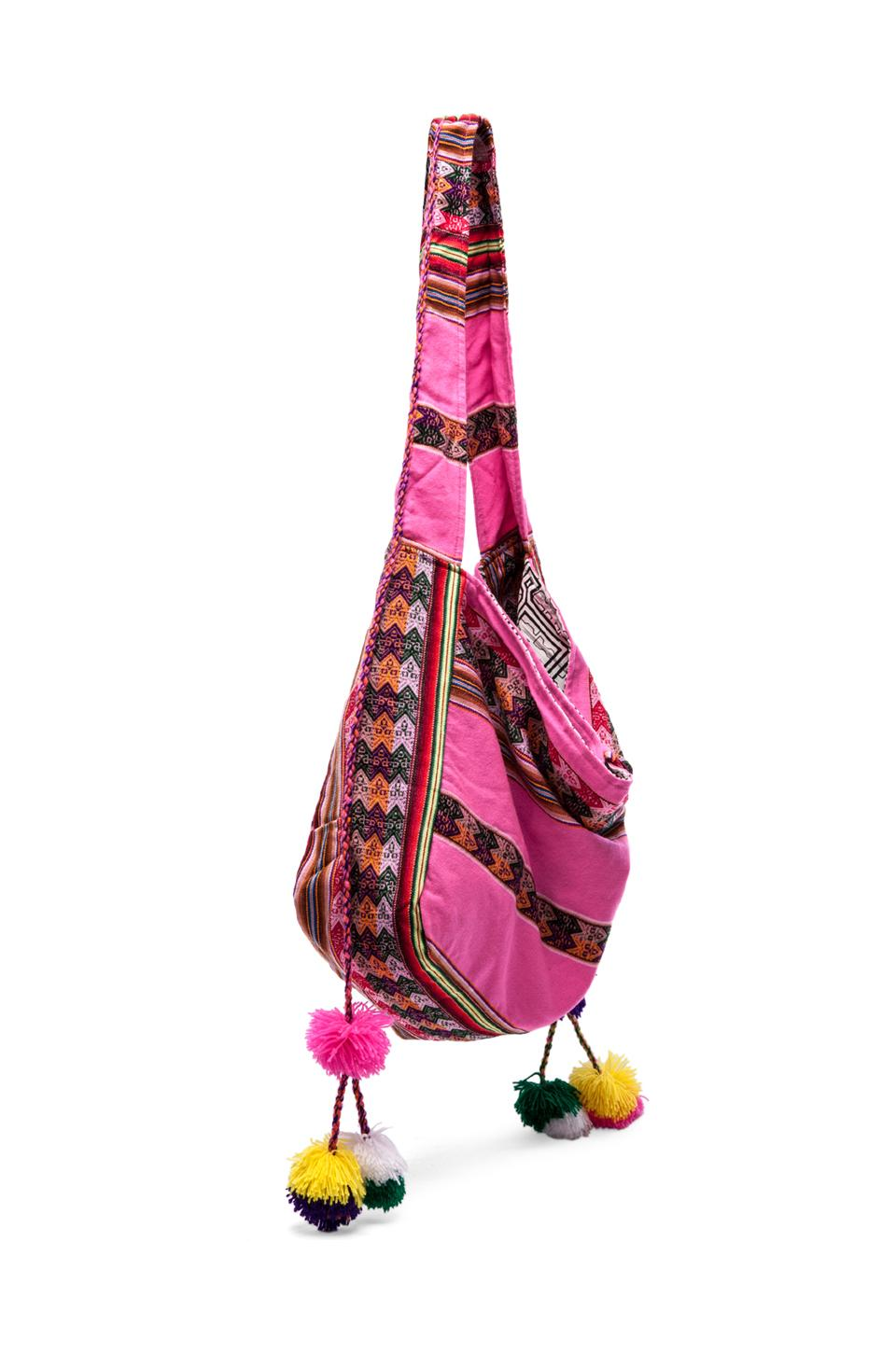 Inca Beach Bag in Hot Pink from REVOLVEclothing.com