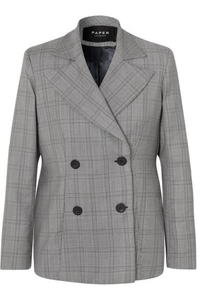 Paper London blazer oversized wool jacket